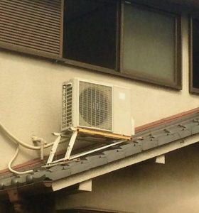 屋根設置エアコン