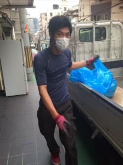 大阪市港区で、ご予約されたお客様の不用品回収