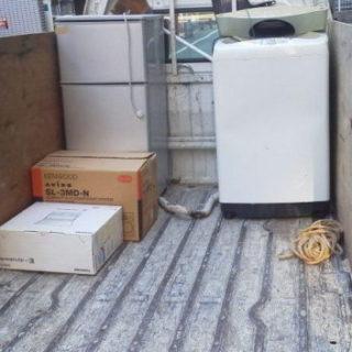 中央区で冷蔵庫と洗濯機を当日引き取り、お問い合わせ後1時間で到着