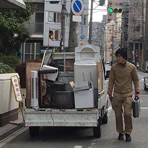 熟練の技!大阪市北区でのエアコン回収