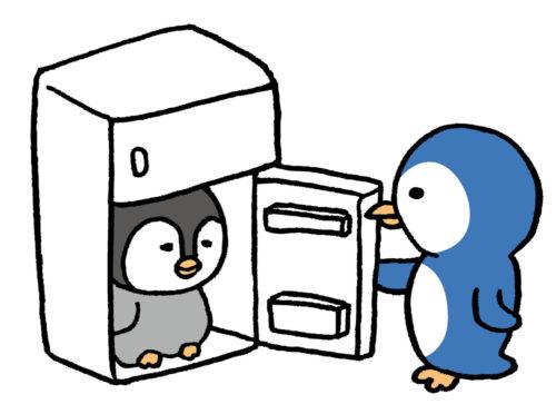 冷蔵庫ペンギン