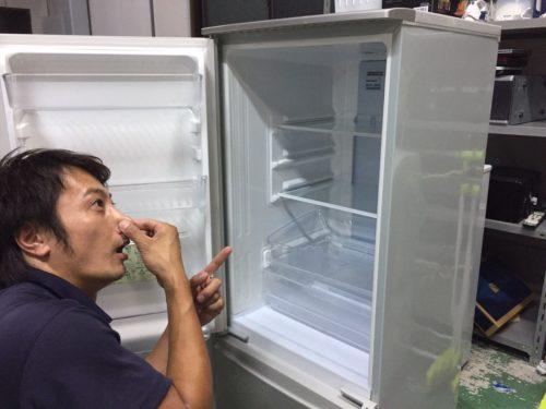 冷蔵庫臭い