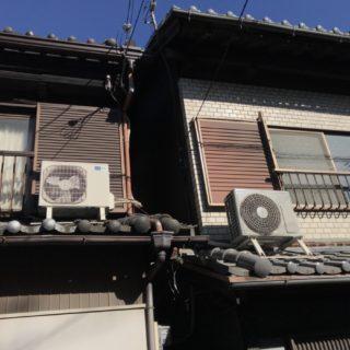 エアコンの取り外しと回収事例 in 鶴見区