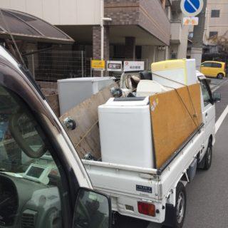 大量の不用品処分をお考え方必見!トラック積み放題がオススメです。
