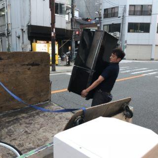 尼崎市にて、冷蔵庫洗濯機セット回収!