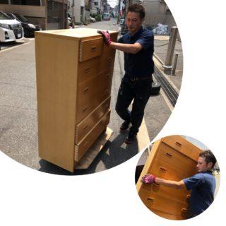 暑い時期は大変!住吉区にて、汗ダク片付け作業開始。