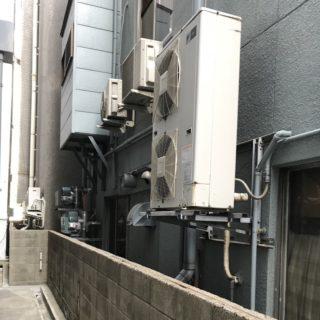 事前に見積もりが必要です!中央区にて、業務用エアコンの回収作業