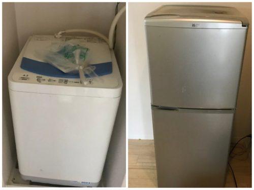 住吉区にて冷蔵庫and洗濯機回収
