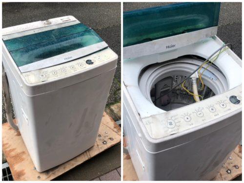 外置き洗濯機を劣化や汚れから守る方法